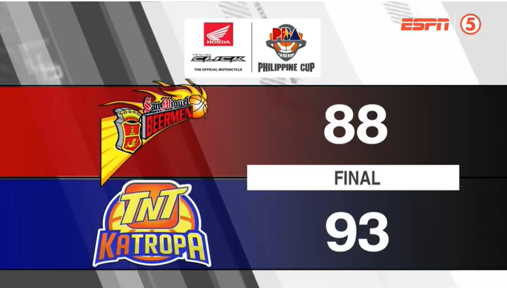 TNT def. San Miguel, 93-88 (REPLAY VIDEO) April 8 | QF Game 2