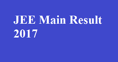JEE Main Result 2017