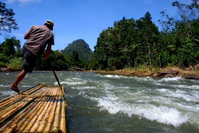 Festival Loksado 2017 Hadirkan Festival Bamboo Rafting dan Budaya Loksado