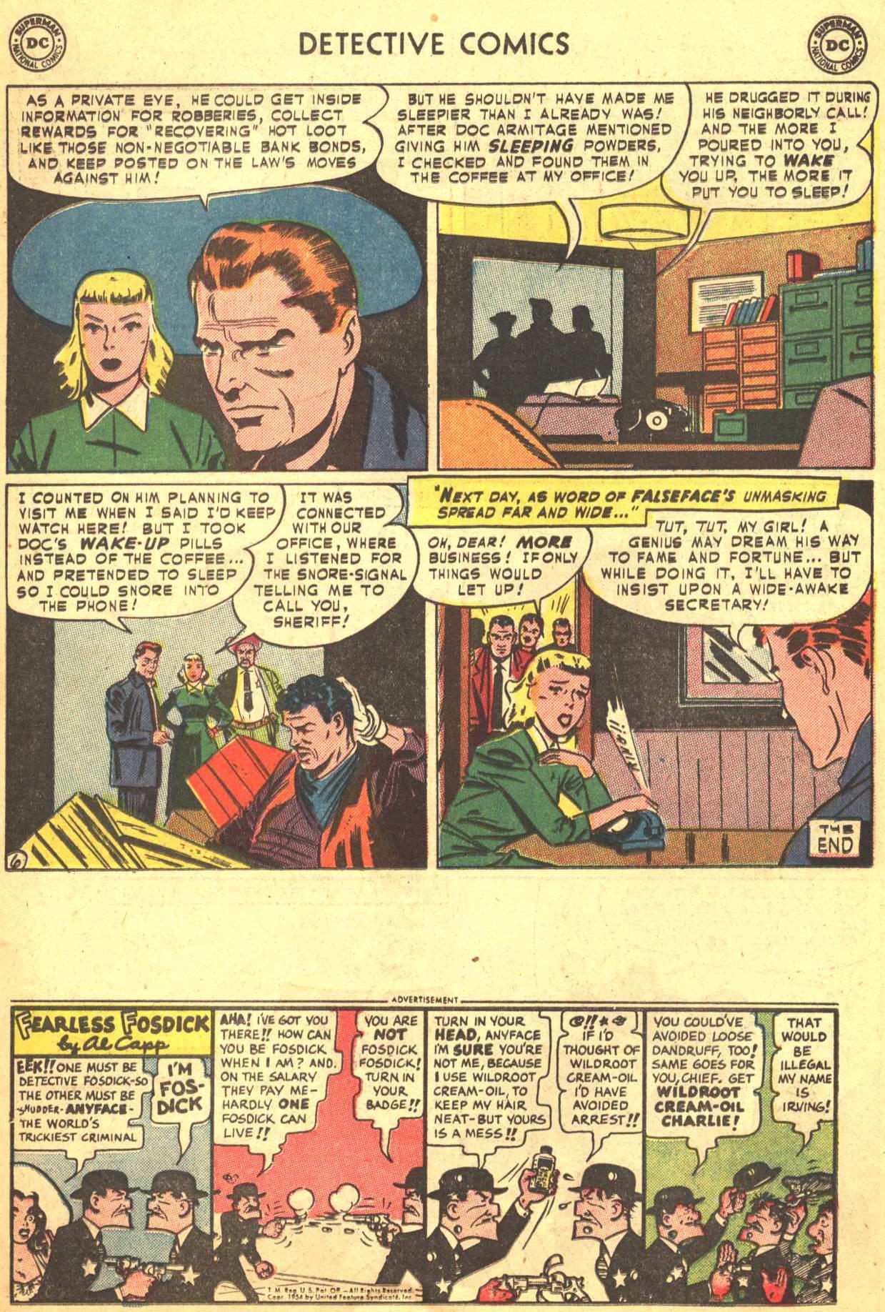 Read online Detective Comics (1937) comic -  Issue #206 - 19