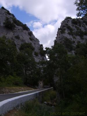 Mont Ventoux, Ventoux nord, Voyage par Lyon,