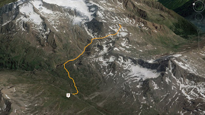 GPS Piz Umbrina Cima di Val Ombrina