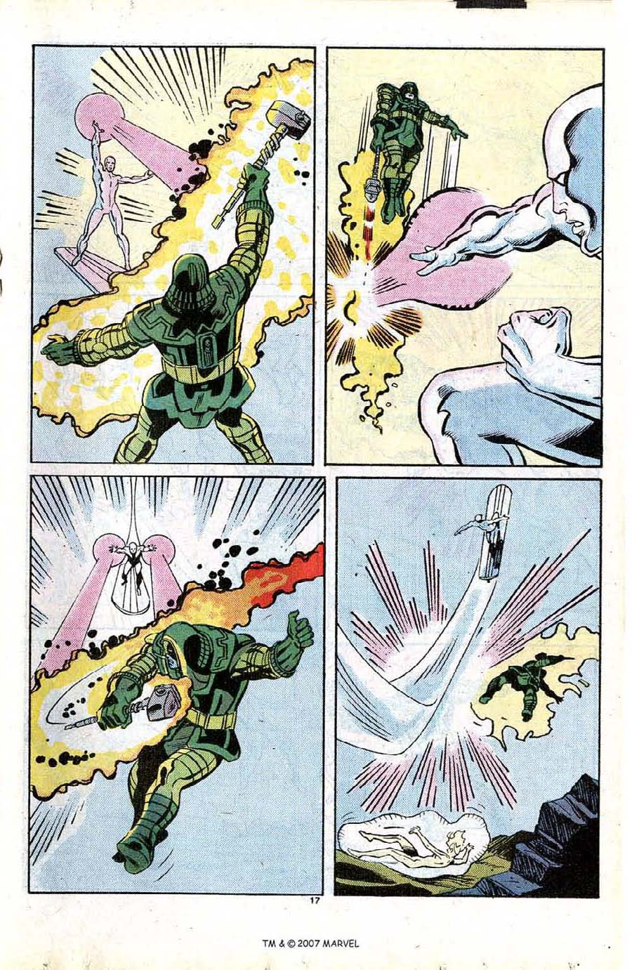 Read online Silver Surfer (1987) comic -  Issue #13 - 19