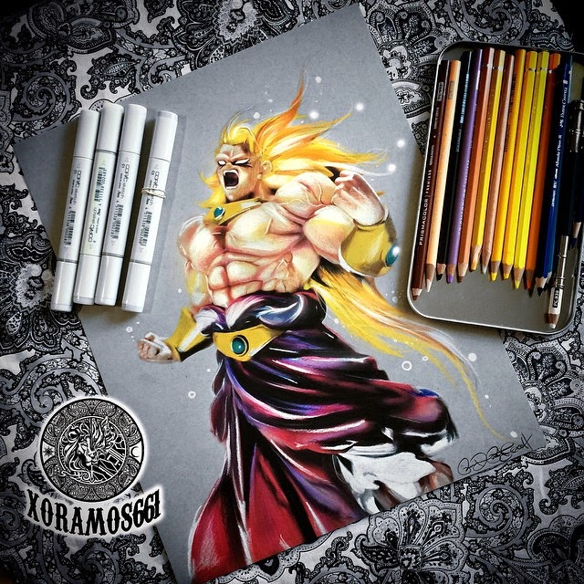 21-Broly-Ramos-Ruben-xoramos661-Photo-Real-Comic-Book-Coloured-Drawings-www-designstack-co