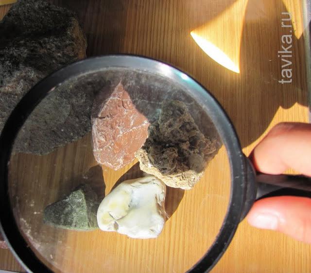 занятие для детей про камни