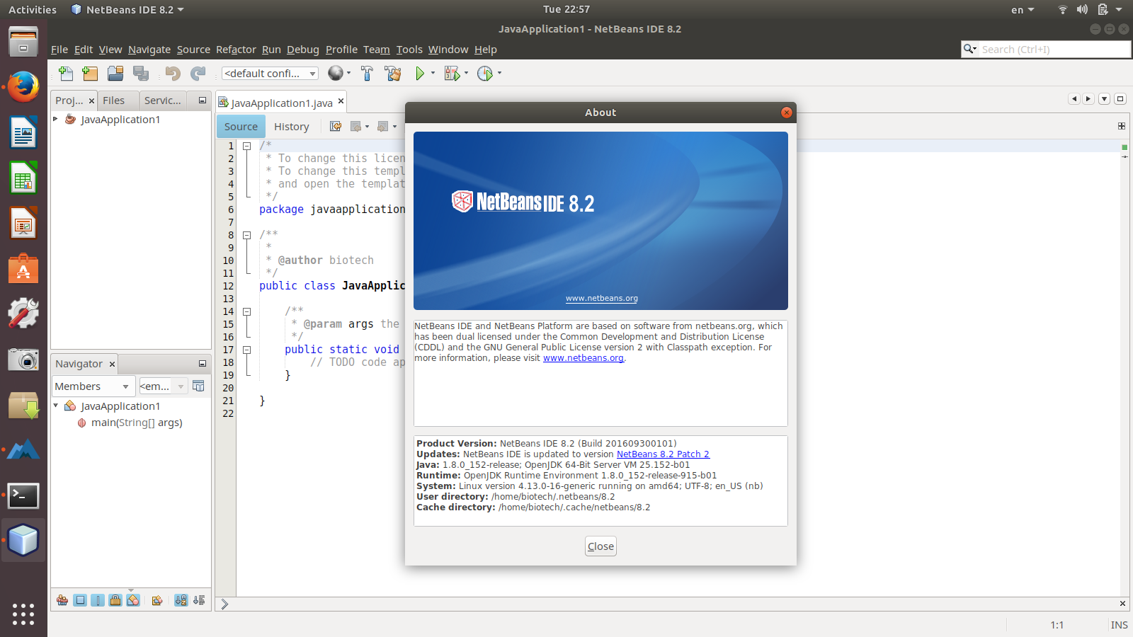 How to install program on Ubuntu: NetBeans IDE 8 2 released