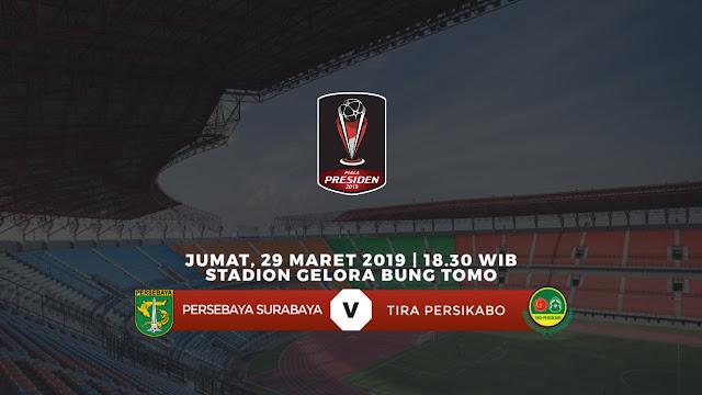 Harga Tiket Persebaya Vs Ps Tira Persikabo Babak 8 Besar Piala