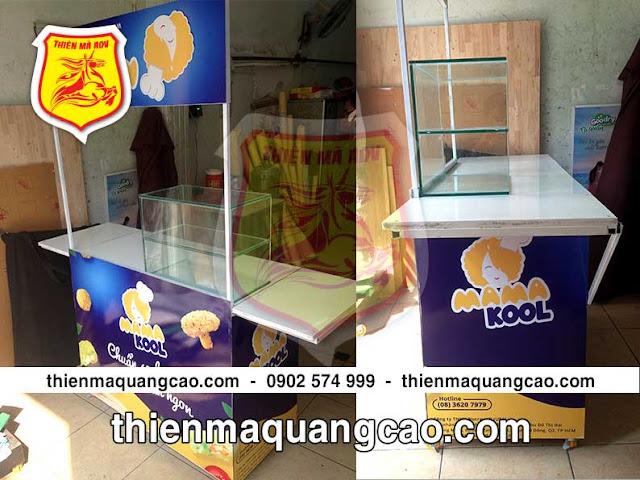 Quầy bán hàng di động mamakool ấn tượng và chất lượng