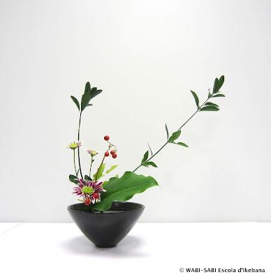 Ikebana- Moribana