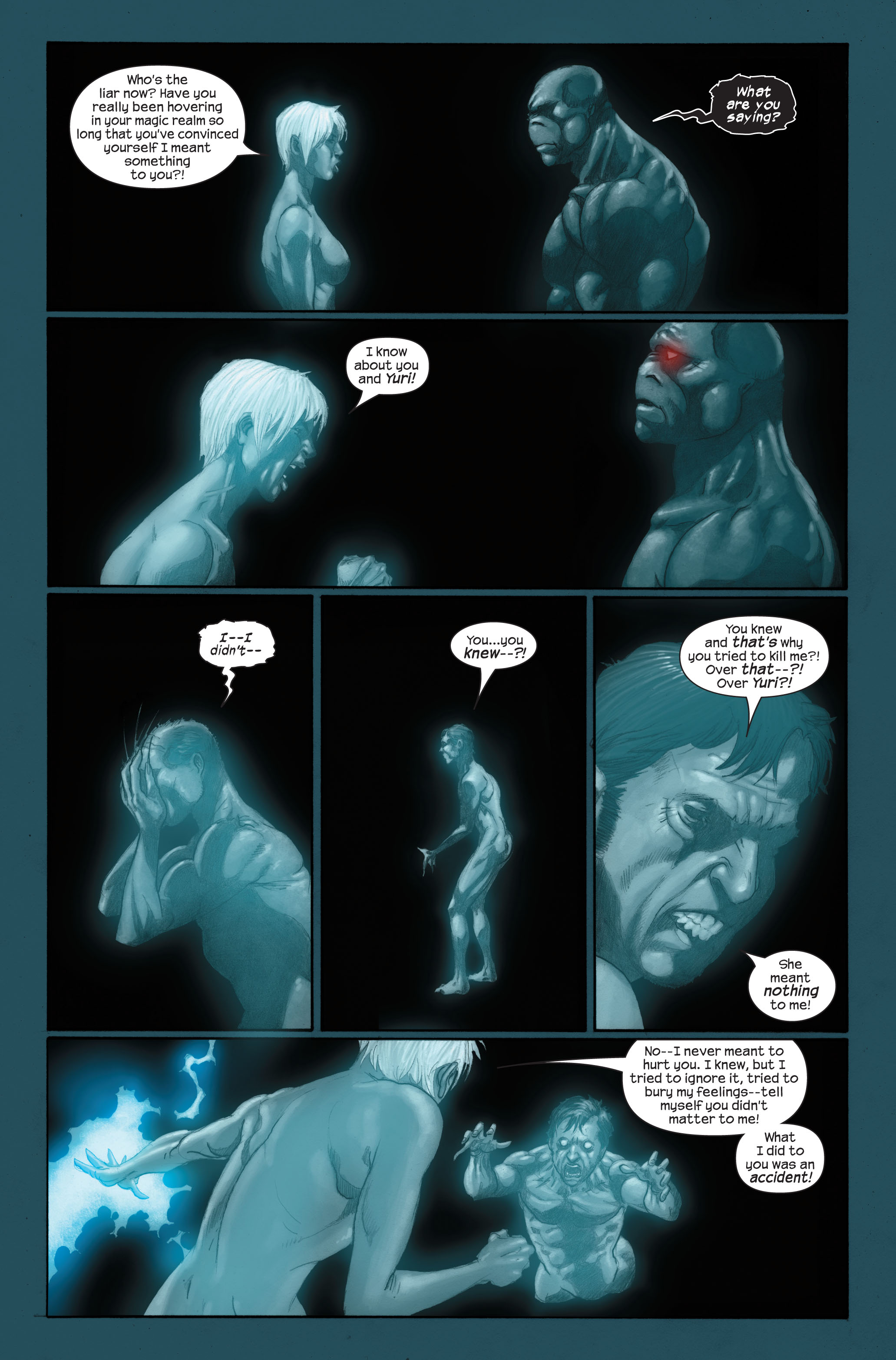 Read online Ultimate X-Men comic -  Issue #89 - 17
