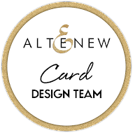 Proud to be on Altenew Card DT
