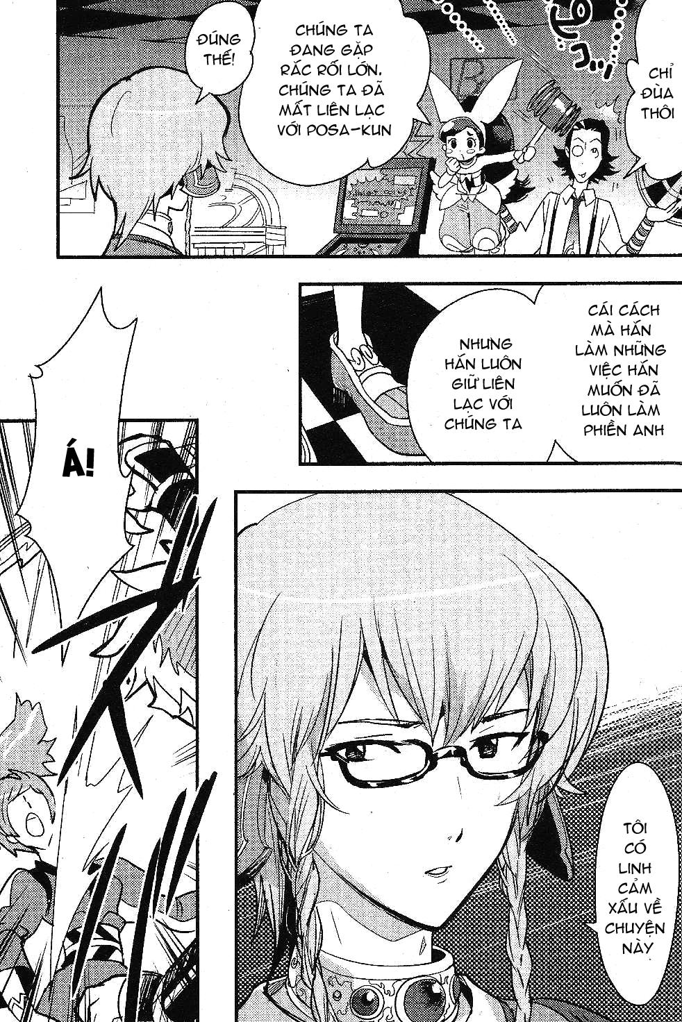 .HACK//LINK chapter 016 trang 28