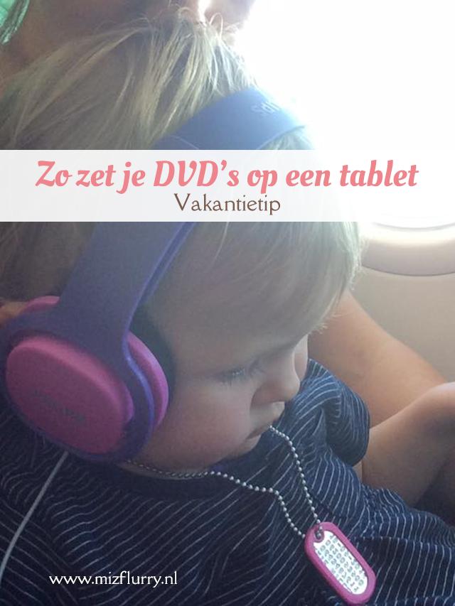 Zo zet je DVD's op een iPad vakantietip