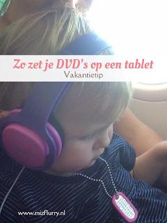 Vakantietip: zo zet je films over van DVD naar iPad