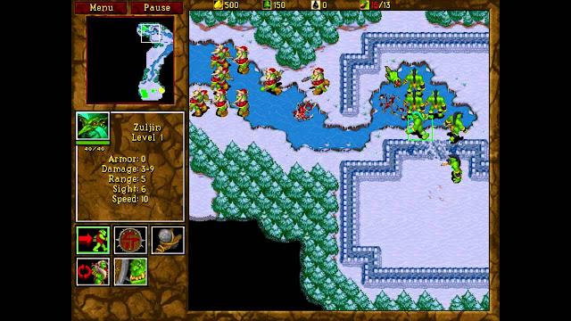 Games que marcaram - Warcraft 2