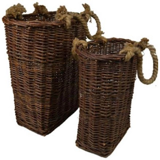 hanging willow baskets