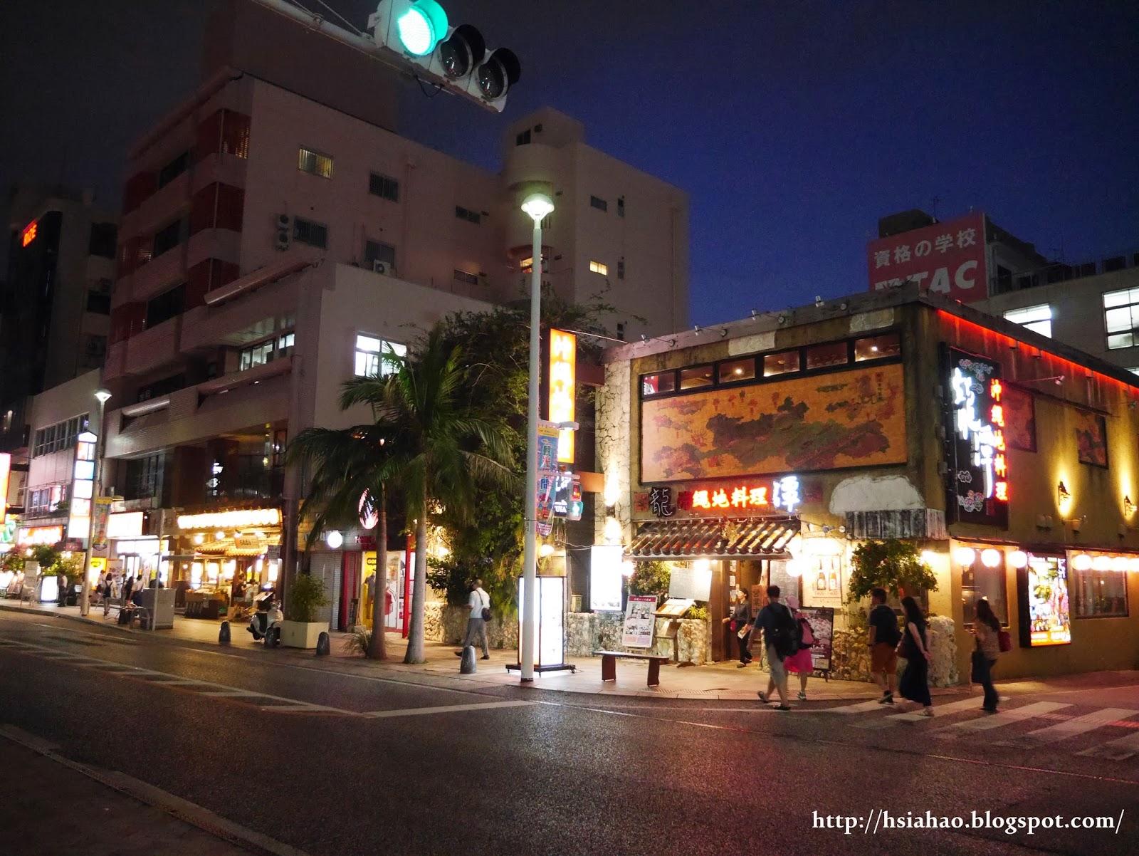 沖繩-國際通-夜晚-那霸-購物-逛街-景點-自由行-Okinawa-kokusaidori