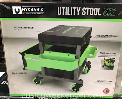 Costco 1282618 - Mychanic SK2 Utility Stool: great for any garage