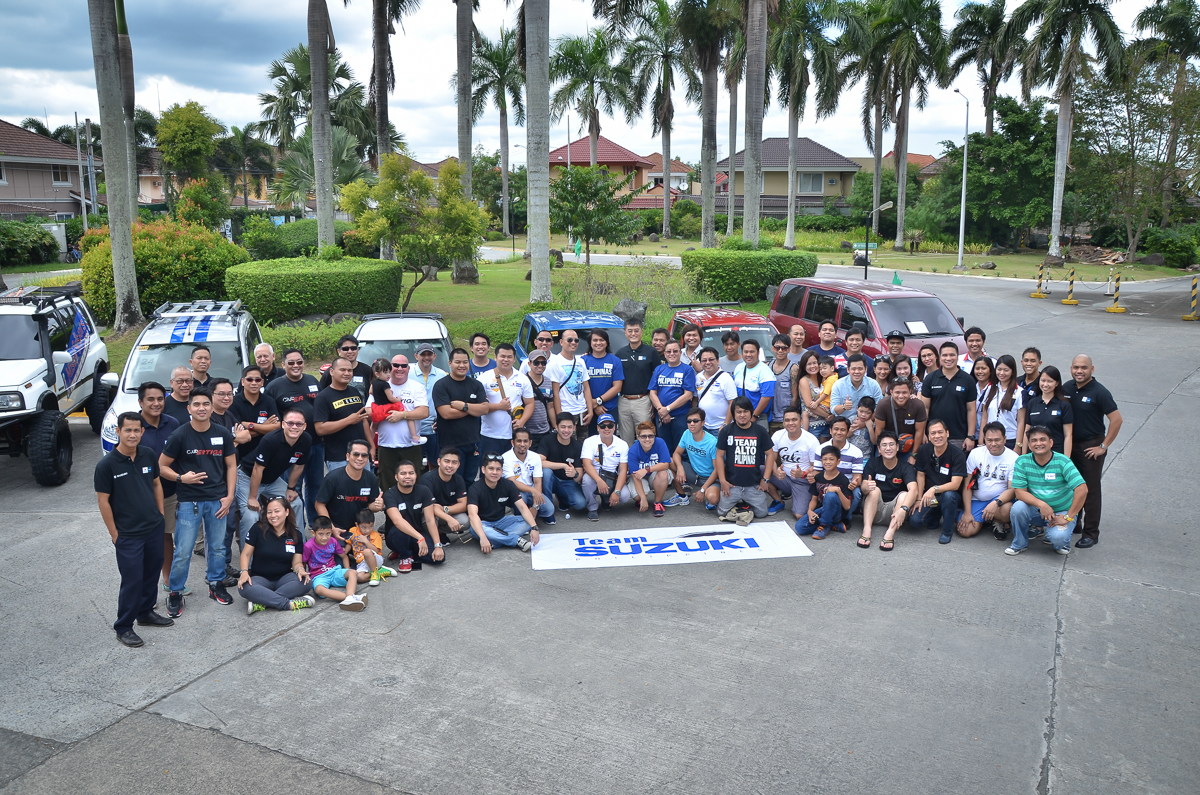 Suzuki Car Clubs unite to form Team Suzuki Philippines