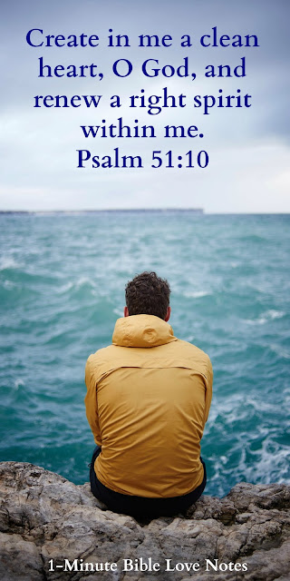 Being Honest with God and Others about your sins - Psalm 51