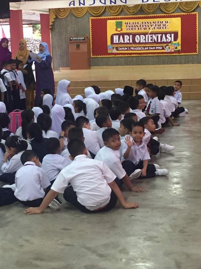 Ikhwan Hafeez first day school   Darjah 1 2018