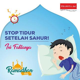 Stop Tidur Setelah Sahur