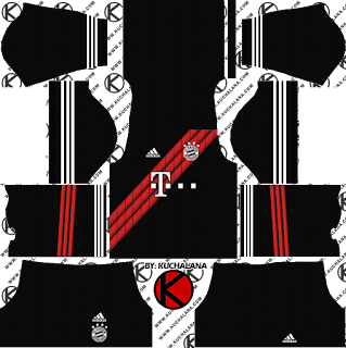 Bayern Munich x adidas Digital 4th Kits Dream League Soccer Kits