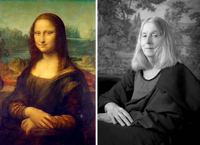 66-Year-Old Woman Recreates Famous Paintings ??