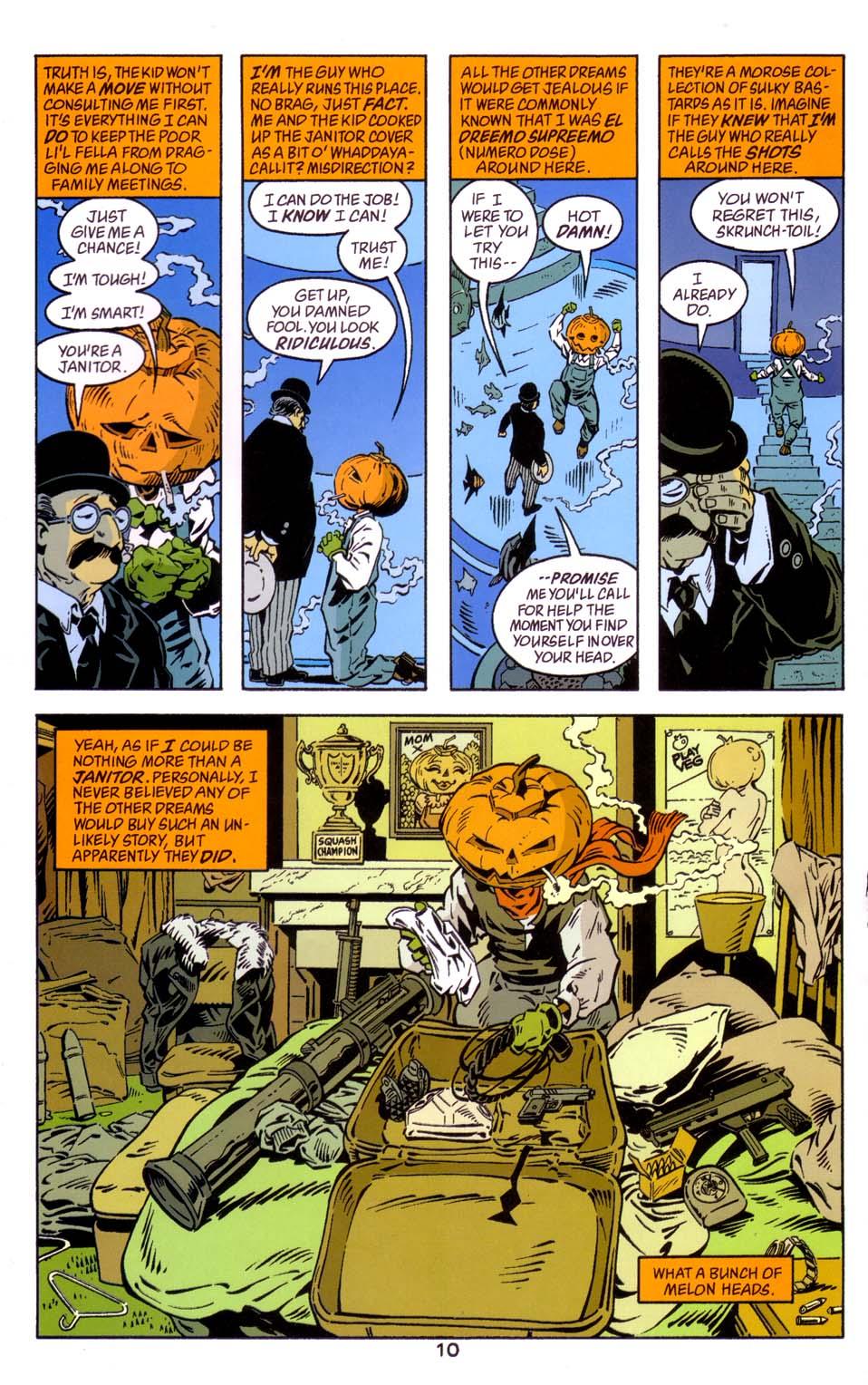 Read online Merv Pumpkinhead, Agent of D.R.E.A.M. comic -  Issue # Full - 11