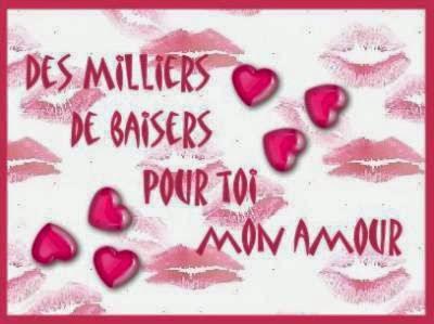 Texte d'amour bisou