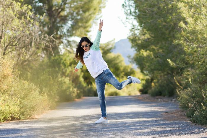 Ideas de look para ir un día al campo comoda y estilosa de la blogger valenciana withorwithoutshoes