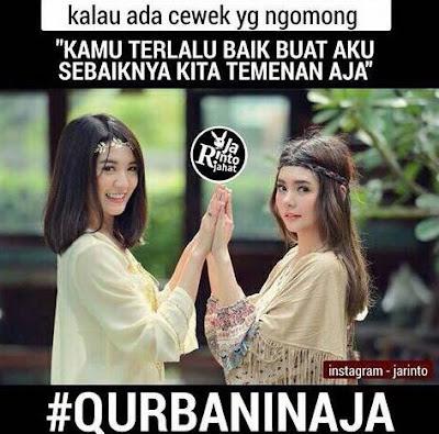 22 Meme Idul Adha Bertema 'Qurbanin Aja' Ini Bikin Nyengir-nyengir Sendiri