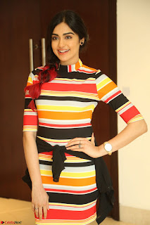 Adha Sharma in a Cute Colorful Jumpsuit Styled By Manasi Aggarwal Promoting movie Commando 2 (129).JPG