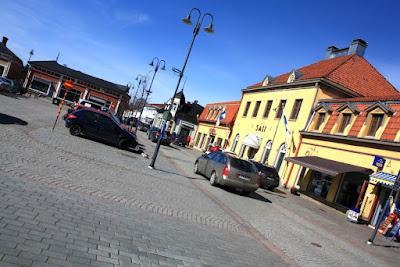 Market Square of Vanha Rauma