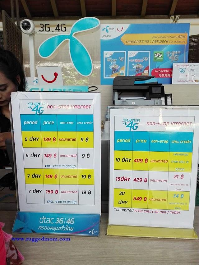 Kad SIM Yang Boleh Digunakan Di Thailand
