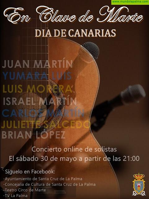 Santa Cruz de La Palma organiza un concierto online con un potente cartel de solistas locales para celebrar el Día de Canarias