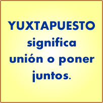 lengua, española, yuxtapuesto
