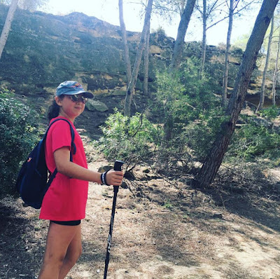 bastones de senderismo, caminata deportiva, marcha nordica, trekking, songmics,