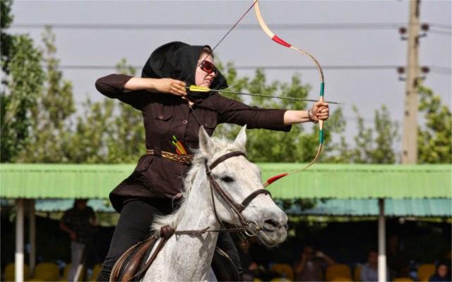 latihan berkuda, latihan memanah, latihan berenang, perang tanpa senjata, perang Islam, perang dunia