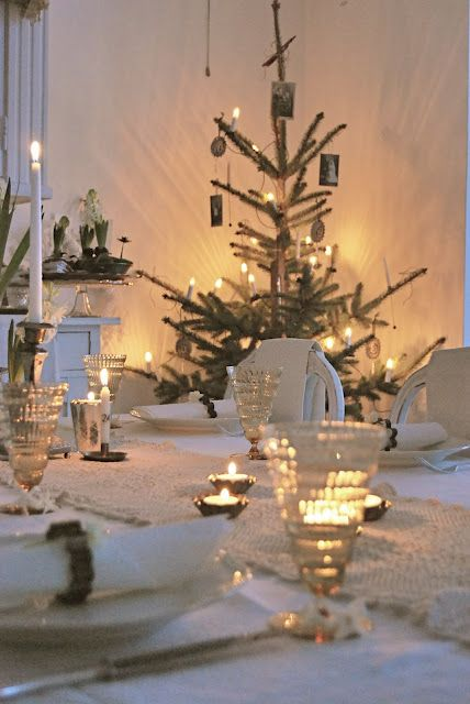 image result for Swedish Farmhouse Christmas Decorating Interior Design
