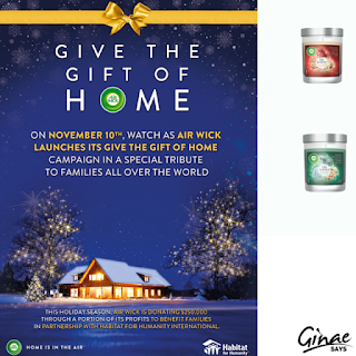 Air Wick Partners With Habitat for Humanity This Holiday Season