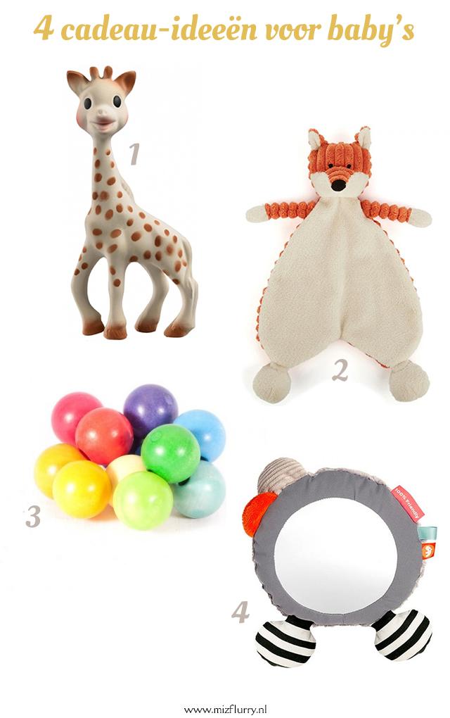10 cadeau-ideeën voor baby's