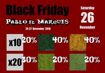 Black Friday: Sábado 26
