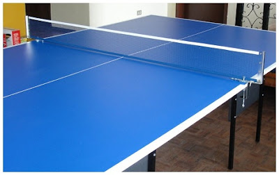 Ukuran Lapangan Tenis Meja dan Net bola Komponen Pelengkap yang Benar