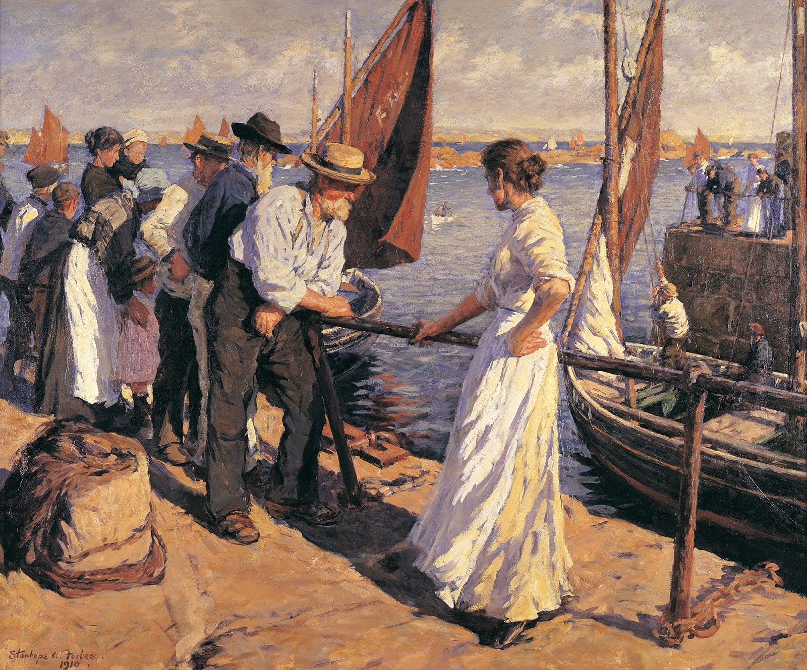 Stanhope Forbes | Plein Air /Genre painter