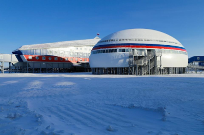 Russian President opens a top-secret military base in the Arctic allegedly in preparation for Cold War