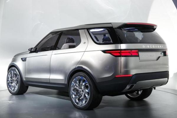 2017 Land Rover Discovery Concept