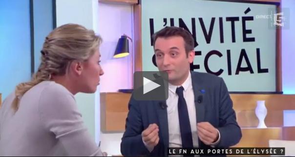 L'échange tendu entre Florian Philippot et Anne-Sophie Lapix