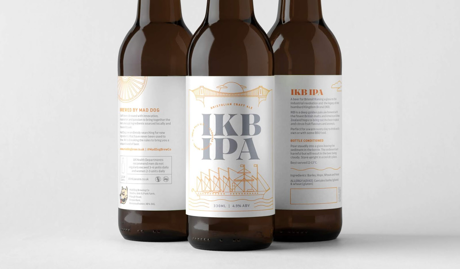 Brand new IKB IPA on Packaging of the World - Creative Package Design Gallery XG17