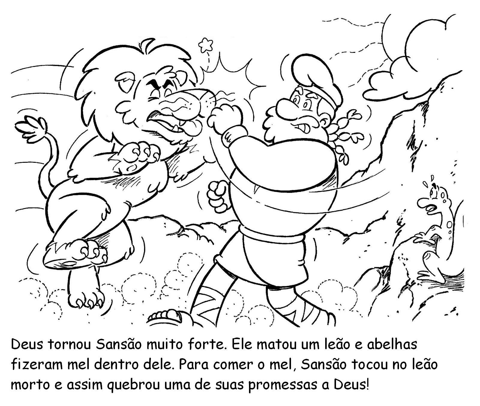 Ministerio Agua Viva Kids Sansao E Dalila Desenhos E Atividades